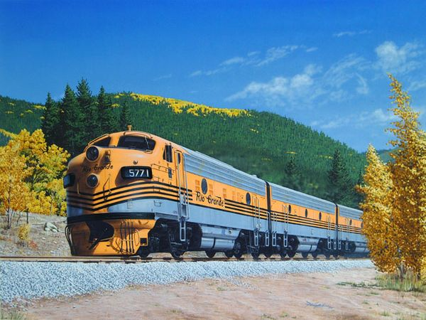 Gold In the Rockies<br>by Don Feight