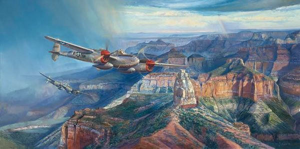 Grand Canyon Lightning<br> NEW RELEASE by Rick Herter<br>
