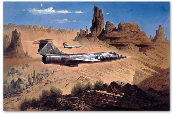 Gunfighters of the New West<br> By Heinz Krebs<br> F-104