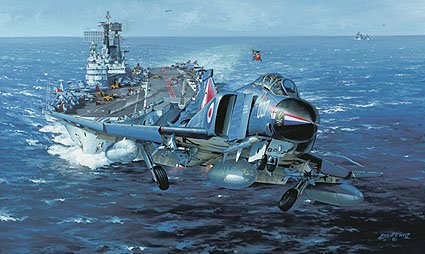 H.M.S. Ark Royal by Phillip Wesr
