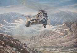 SKASaC  Over Helmand Province by Ronald Wong