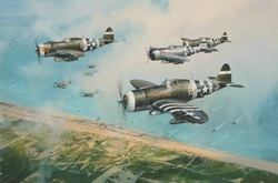Hell Hawks Over Utah <br> NEW D DAY COMMEMORATIVE RELEASE by Robert Taylor<br>