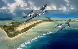 """Hellcats  Over Tarawa <b style=""""color:red;font-weight: bold;"""">NEW!</b>-  by Jack Felloiws"""
