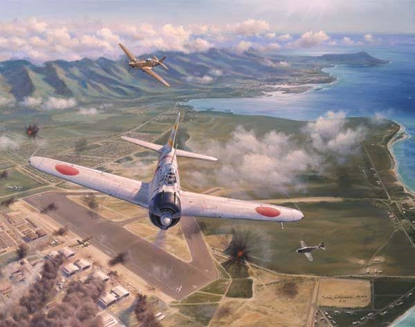 Hickham Field <br> NEW GICLEE RELEASE<br> By Jim Laurier