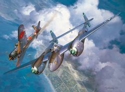 High Noon Over Alicante<br> Signed by Maj. Jay T. Robbins<br>