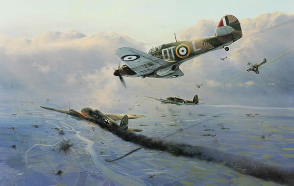 """Hurricane Force <br> By Robert Taylor<br><b style= """"color: blue; font-weight:bold,""""> Battle of Britain Trilogy</b><br><b style=""""color:red;font-weight: bold;"""">ORIGINAL AVAILABLE</b><br>"""