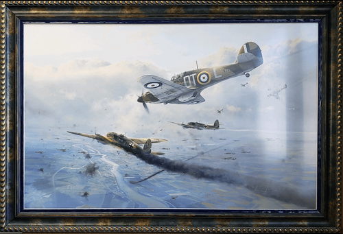 "Hurricane Force <br> By Robert Taylor<br><b style= ""color: blue; font-weight:bold,""> Battle of Britain Trilogy</b><br><b style=""color:red;font-weight: bold;"">ORIGINAL AVAILABLE</b><br>"