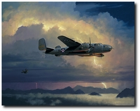 INTO THE ARMS OF THE DRAGON by BILL PHILLIPS<br>W/Six Doolittle Raider Signatures<br>