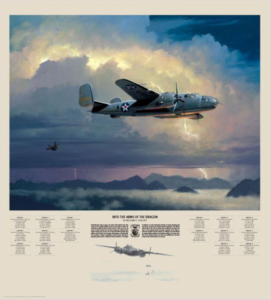 """Into The Arms of the Dragon<br> by Bill Phillips<br>  <b style= """"color: blue; font-weight:bold,"""">    Doolittle Raid</b>"""