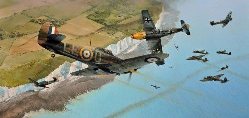 Into The Fray <br> By Richard Taylor<br>Douglas Bader's Wing<br>