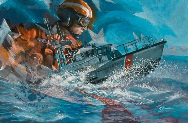 Into The Surf<br> by Brian Snuffer