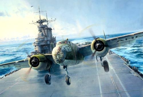 Into The Teeth of The Wind by Robert Taylor <br> One of the Best Doolittle Raider Prints<br>
