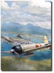 Japanese Zero <br> By Jim Laurier<br>