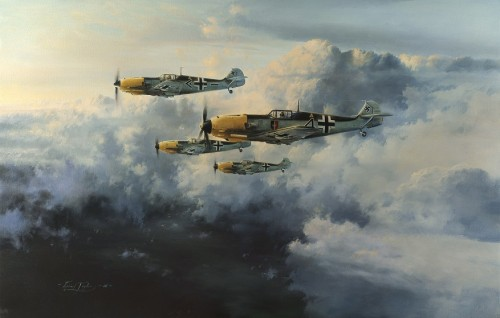 JG-52 - NEW Giclee Canvas Edition by ROBERT TAYLOR