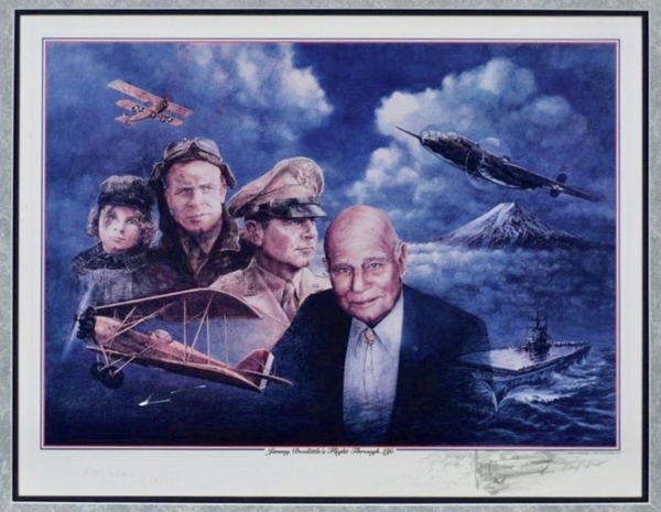 """JIMMY DOOLITTLE'S FLIGHT THROUGH LIFE"" by Ron Pekar"