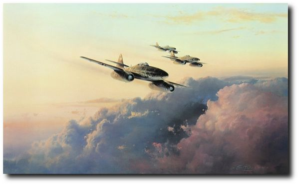 JV-44 - Squadron of Experts  by Robert Taylor - Rare Secondary  Market Print
