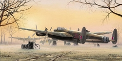 Lancasters At The Ready<br> By Philip E. West<br>