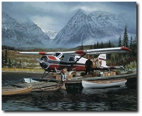 LAST CHANCE by BILL PHILLIPS<br>NEW ANNIVERSARY GICLEE CANVAS RELEASE<br>