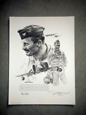 Leader of the Pack<br> By Matt Waki<br> Signed by Gen. Robin Olds<br>