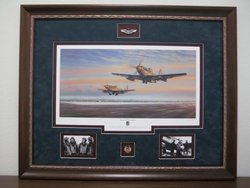 Leiston Legends - Framed  $1,095<br>Chuck Yeager and B ud Anderson signed