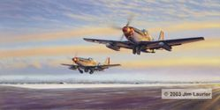 Leiston Legends by Jim Laurier<br>Chuck Yeager and Bud Anderson<br> Getting low Inventory
