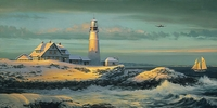 LIGHTKEEPER'S GIFT by BILL PHILLIPS <br> Artist Proofs Only <br>