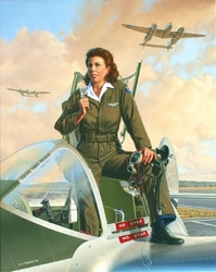 Lightning Lady<br> By Stan Vosburg<br>
