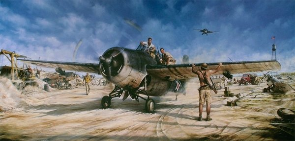 Magnificent Fight <br> By John Shaw<br> 31 Wake Island Signatures<br>