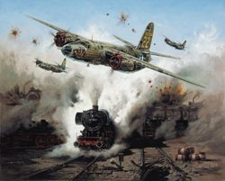 "<b>""MARAUDER STRIKE"" by HEINZ KREBS<br>"