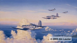 Marine Corsairs<br> By Jim Laurier <br>