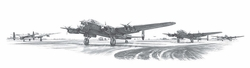 Maximum Effort<br> by Nicolas Trudgian<br> 9 Lancaster Aircrew Signatures<br>