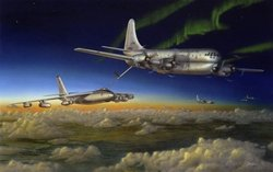 """Meeting of the Strats"" <br> C-97 Stratojet<br>"