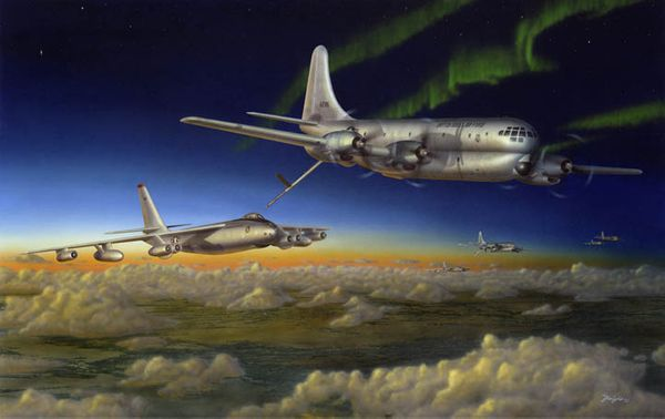 """""""Meeting of the Strats"""" <br> C-97 Stratojet<br>"""