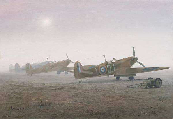 """<b>""""MERLINS IN THE MIST"""" by ROBIN SMITH<br>"""
