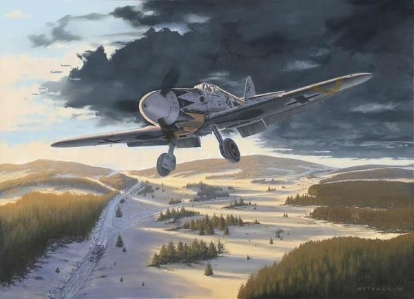 MESSERSCHMITT 109 by BRIAN BATEMAN