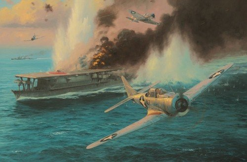 Midway - Attack on the Soryu<br> New Release by Anthony Saunders<br>
