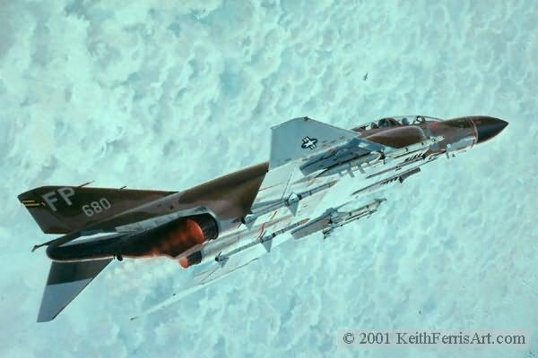 Mig Sweep<br> F-4 Phantom<br> Robin Olds<br>