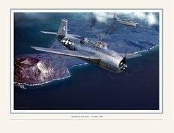 Mission to Iwo Jima <br> NEW GICLEE RELEASE by Jack Fellows