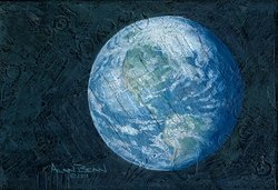 Monet's Moon by Alan Bean