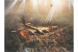 """<big><center>""""Mosquito Mk VI"""" by Terence Cuneo</big></center>"""