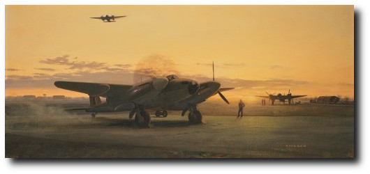 """MOSQUITOS AT DUSK<br> by GERALD COULSON <br> <b style= """"color: red;font-weight:bold,"""">    NEW RELEASE</b>   Mosquito Pilot Signed"""