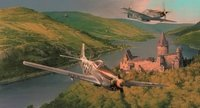 Mustangs On The Prowl<br> Giclee Canvas<br> By Robert Taylor<br>