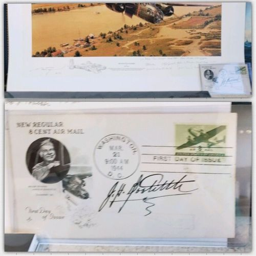 """<big><center>""""DOOLITTLE RAIDERS""""  Remarqued Secondary Market by Robert Taylor<b style= """"color: red;font-weight:bold,""""> 14 Raider Signatures </big></Center></b style= """"color: red;font-weight:bold,"""">"""