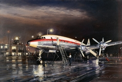 Night Departure<br> By John Young<br>