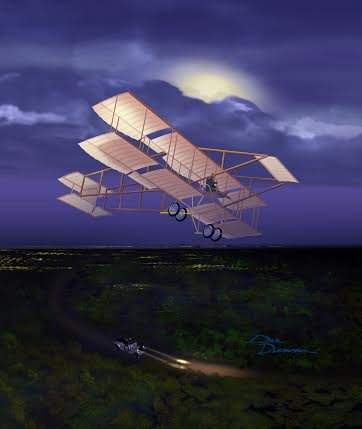 Night Flight <br> By NEW ARTIST Dale Dunn