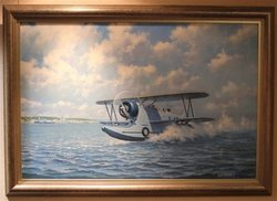 U.S. Navy J2-F2<br> by Ron Lackenby <br>  $2,950<br>