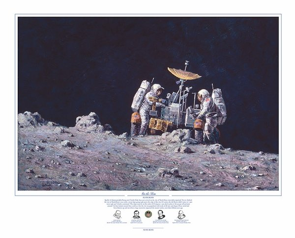 "ON THE RIM -  <b style= ""color: red;font-weight:bold,"">  NEW RELEASE </b> <br> by ALAN BEAN"