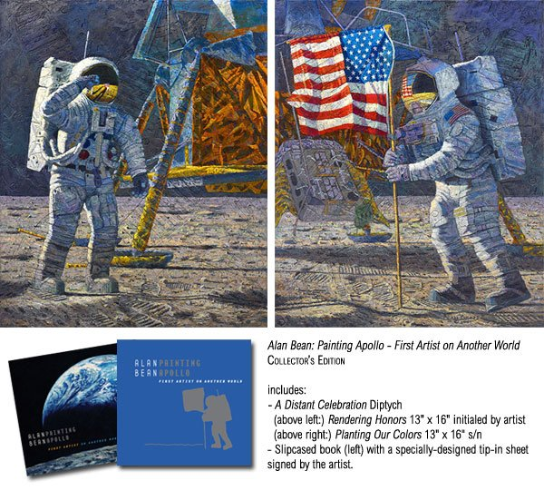 Painting Apollo - First Artist on Another World by Alan Bean