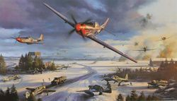 Mustang Mayhem -  NEW</b>  RARE SECONDARY MARKET PRINT</b></b>