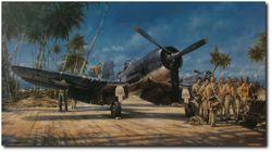 Black Sheep Squadron - Canvas Giclee